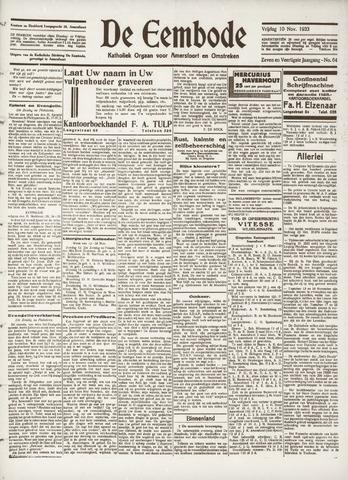 De Eembode 1933-11-10