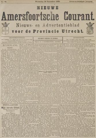 Nieuwe Amersfoortsche Courant 1898-11-30