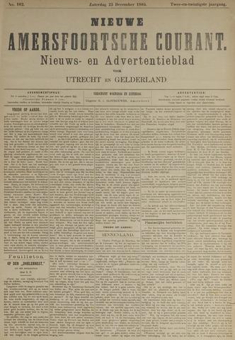 Nieuwe Amersfoortsche Courant 1893-12-23