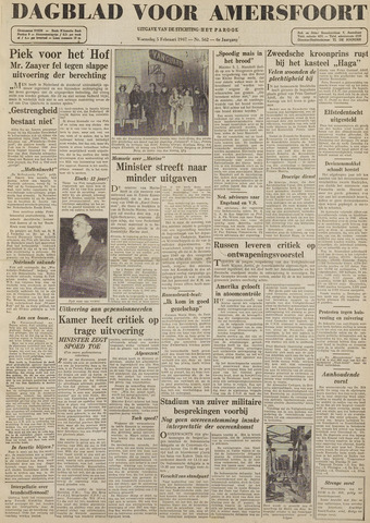 Dagblad voor Amersfoort 1947-02-05
