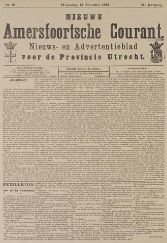 Nieuwe Amersfoortsche Courant 1912-11-13
