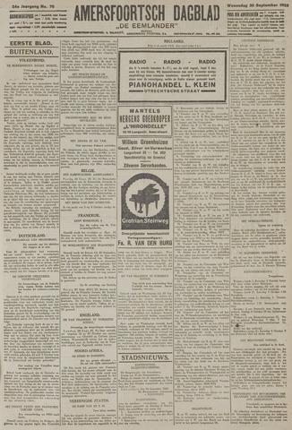Amersfoortsch Dagblad / De Eemlander 1925-09-30