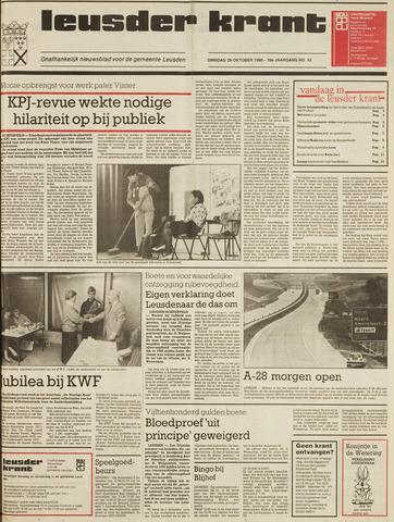 Leusder Krant 1986-10-28