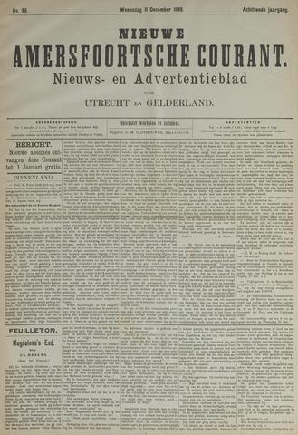 Nieuwe Amersfoortsche Courant 1889-12-11