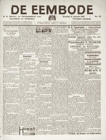 De Eembode 1927-01-11