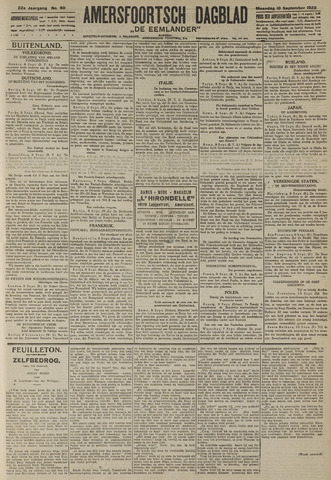 Amersfoortsch Dagblad / De Eemlander 1923-09-10