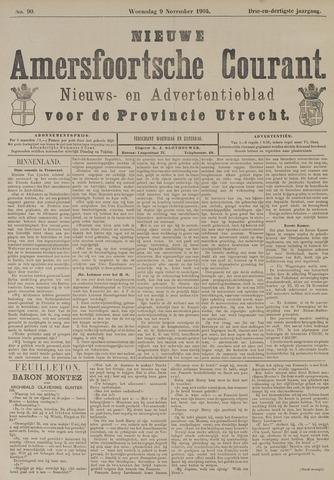 Nieuwe Amersfoortsche Courant 1904-11-09
