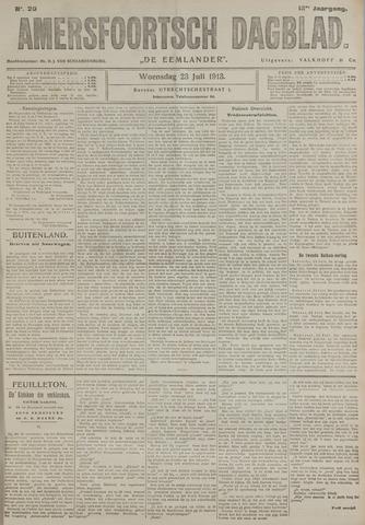 Amersfoortsch Dagblad / De Eemlander 1913-07-23
