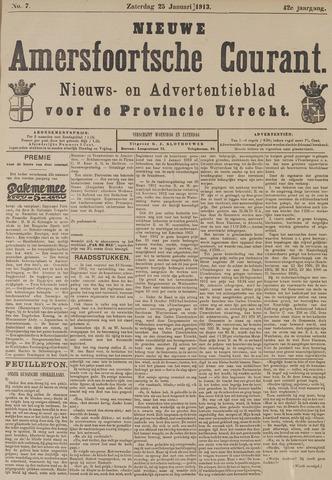 Nieuwe Amersfoortsche Courant 1913-01-25