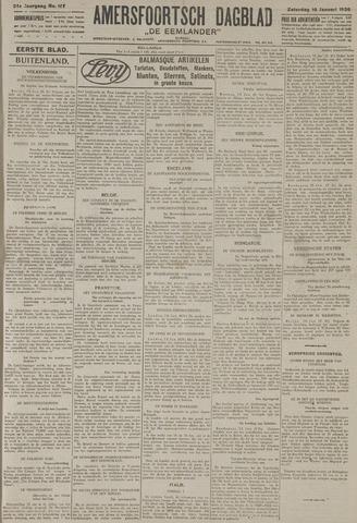Amersfoortsch Dagblad / De Eemlander 1926-01-16