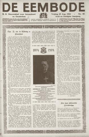 De Eembode 1924-08-15