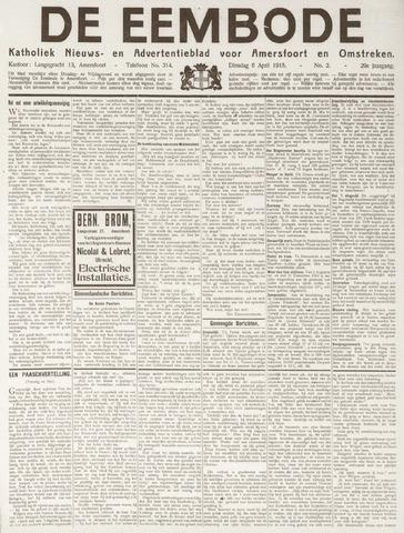 De Eembode 1915-04-06