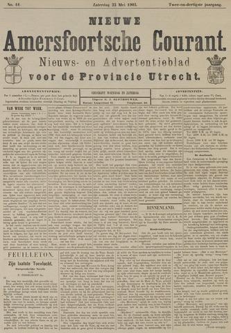 Nieuwe Amersfoortsche Courant 1903-05-23