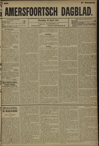 Amersfoortsch Dagblad 1911-04-18