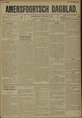 Amersfoortsch Dagblad 1911-02-16