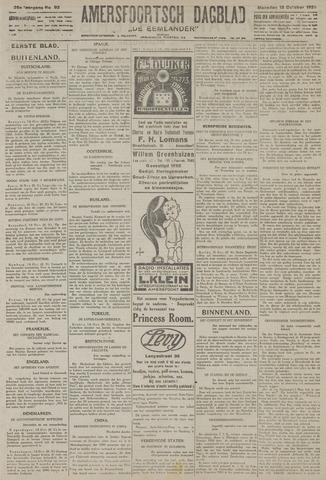 Amersfoortsch Dagblad / De Eemlander 1926-10-18