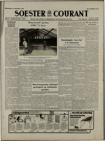 Soester Courant 1972-09-14