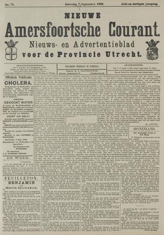 Nieuwe Amersfoortsche Courant 1909-09-07