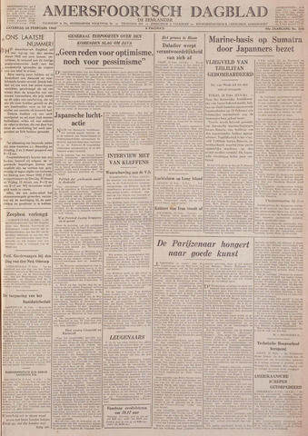Amersfoortsch Dagblad / De Eemlander 1942-02-28
