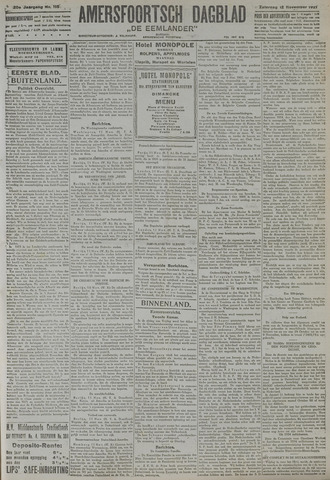 Amersfoortsch Dagblad / De Eemlander 1921-11-12