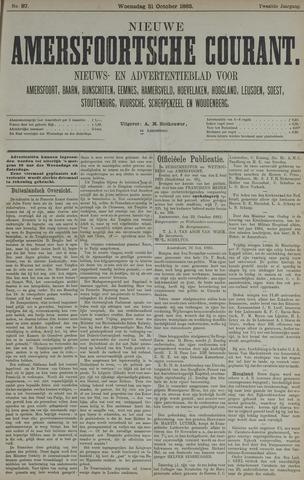 Nieuwe Amersfoortsche Courant 1883-10-31