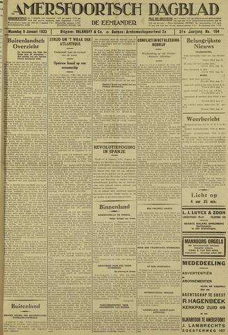 Amersfoortsch Dagblad / De Eemlander 1933-01-09