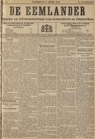 De Eemlander 1908-04-04