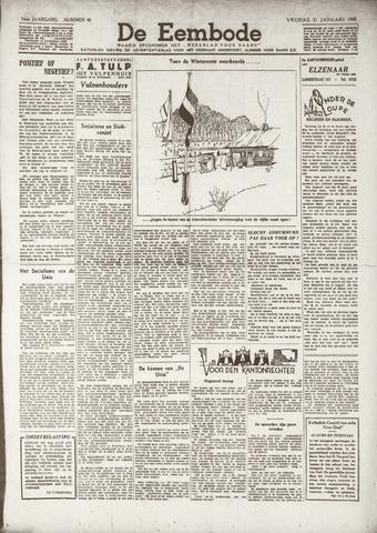 De Eembode 1941-01-31