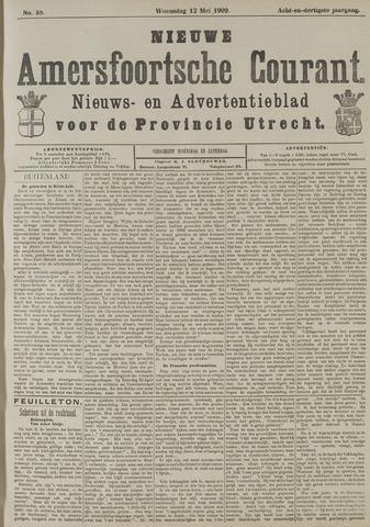 Nieuwe Amersfoortsche Courant 1909-05-12