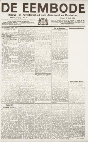 De Eembode 1914-04-10