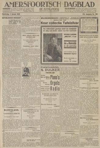 Amersfoortsch Dagblad / De Eemlander 1929-01-03
