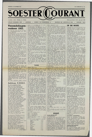 Soester Courant 1952-10-14