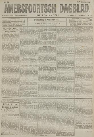 Amersfoortsch Dagblad / De Eemlander 1913-10-09