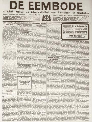 De Eembode 1915-10-15