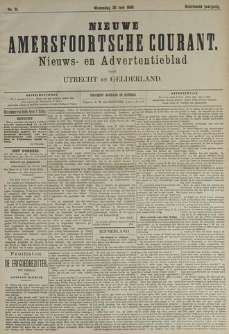 Nieuwe Amersfoortsche Courant 1889-06-26