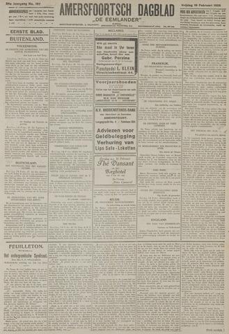 Amersfoortsch Dagblad / De Eemlander 1926-02-19