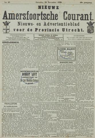 Nieuwe Amersfoortsche Courant 1920-11-20