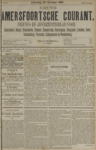 Nieuwe Amersfoortsche Courant 1881-10-22