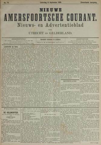 Nieuwe Amersfoortsche Courant 1888-09-15
