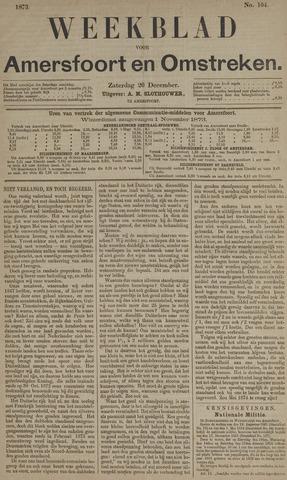 Weekblad voor Amersfoort en Omstreken 1873-12-20