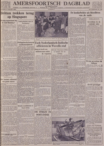 Amersfoortsch Dagblad / De Eemlander 1942-01-13
