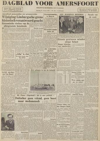 Dagblad voor Amersfoort 1947-01-25