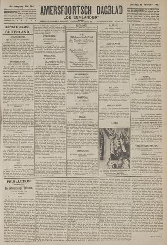 Amersfoortsch Dagblad / De Eemlander 1927-02-15