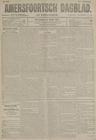 Amersfoortsch Dagblad / De Eemlander 1917-03-14