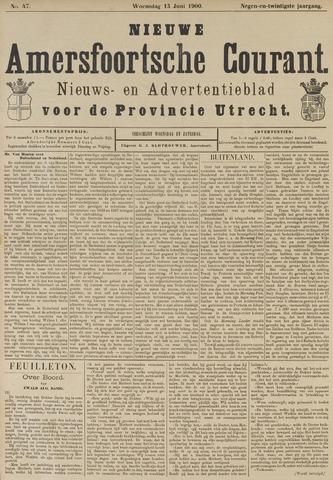 Nieuwe Amersfoortsche Courant 1900-06-13