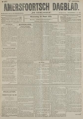 Amersfoortsch Dagblad / De Eemlander 1915-03-24
