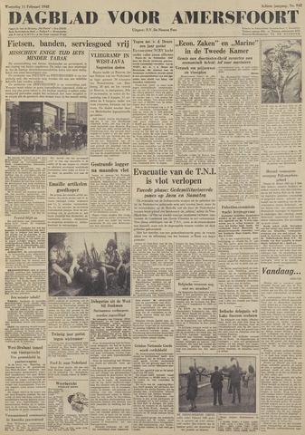 Dagblad voor Amersfoort 1948-02-11