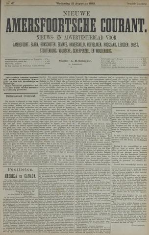 Nieuwe Amersfoortsche Courant 1883-08-22