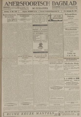 Amersfoortsch Dagblad / De Eemlander 1933-05-13
