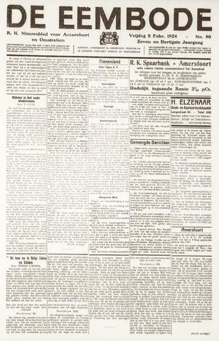 De Eembode 1924-02-08